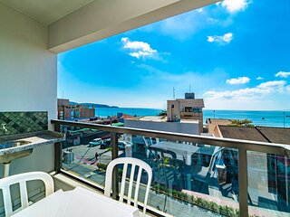Aluguel Apartamento 2 quartos vista para o mar Bombas SC
