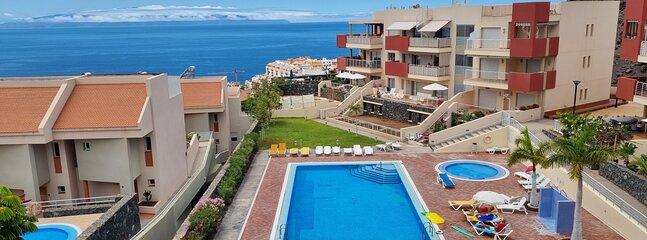 Penthouse Apartment with sea views Puerto de Santiago Tenerife, alquiler de vacaciones en Puerto de Santiago