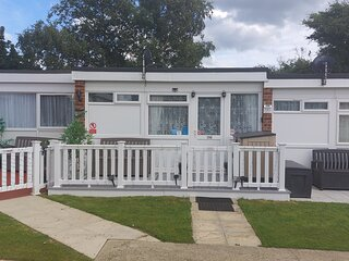Deluxe Holiday Chalet on Belle Aire Holiday Park Hemsby Great Yarmouth.