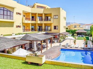 Awesome apartment in Bolnuevo with Outdoor swimming pool, WiFi and 1 Bedrooms (E