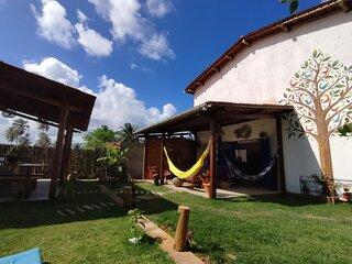 Casa ampla e equipada em Tatuamunha, Milagres
