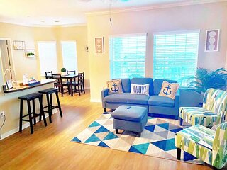 Blissful Beach Vibes |Short Distance From The Beach| 2 bedrooms, 2 bathrooms