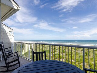 Paradise awaits at this top floor oceanfront condo on the beautiful north end