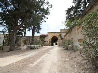 Casa vacanza all'interno di uno storico Baglio con Terrazza panoramica.