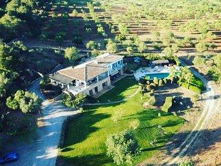 GOLF 8 beautiful villa , sea view ,golf,luxus ,pool, jacuzzi ( 8-15 august free)