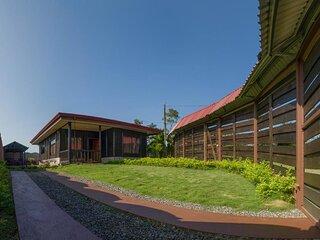 Cabaña el Monasterio lugar donde puedes disfrutar de tranquilidad y naturaleza..