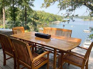 New Waterfront Home with Private Pier