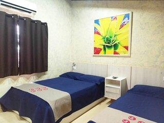 Estadias com Comodidades de uma Casa - Flat/Loft Mobiliado