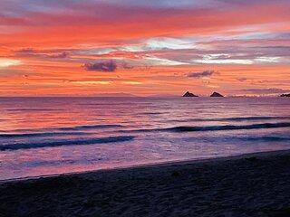Gorgeous 5BR Kailua Beachside Home - Sleeps 12