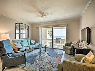 NEW! Beachfront St. Augustine Condo w/ Pool Access