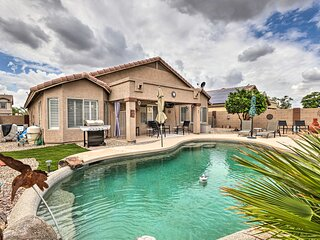 NEW! Surprise Home w/ Outdoor Oasis: Golf Nearby!