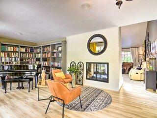 NEW! Pinehurst No. 6 Home w/ Library + Coffee Bar!