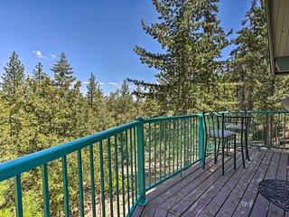 Home w/ Mountain-View Deck, 4 Mi to Lake Arrowhead