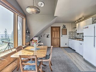NEW! Fraser Couple's Hideaway w/ Indian Peaks View