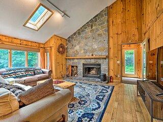 NEW! Spacious Dover Home w/ Sauna < 5 Miles to Ski