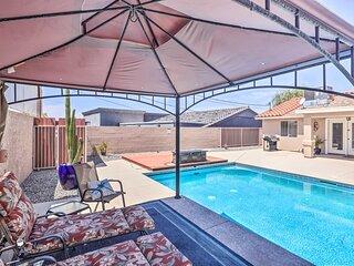 NEW! Cozy Lake Havasu City Home w/ Outdoor Oasis!