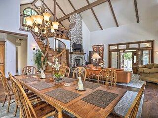 NEW! Ornate Lake Arrowhead Home w/ Hot Tub & Deck!