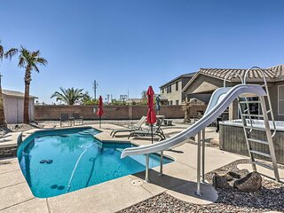 NEW! 'River's Edge' Home w/ Covered Patio & Views!