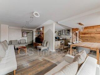 Magnifique appartement 6 pieces 10  personnes dans le centre de Meribel proche