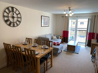 Comfortable 2-Bed Apartment in Kidlington