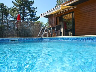 Maison 3 chambres, piscine privee, proximite mer et piscines naturelles du Cavu