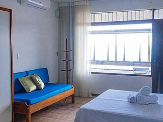Old Town Vista - Room with Ocean View Balcony + AC