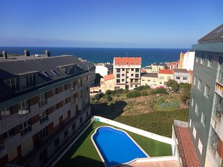 Ocean View Malpica - Atico de nueva construccion con vistas directas al mar