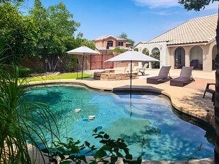 NEW! Awe-Inspiring Arizona Abode w/ Backyard Oasis