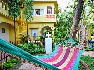 Pauls Cottage Superior Double rooms overall looking calangute beach