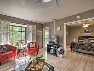 NEW! Canal Waterfront Condo < 1 Mile to Boat Ramp