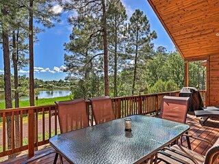 Lakeside Cabin w/ Decks & Amazing Elder Lake Views