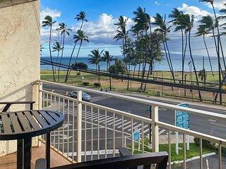 Expansive Ocean views from Island Surf!  Perfect Kihei Location- Split AC!