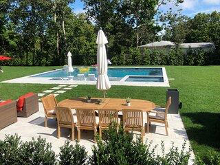 Brand new, Hamptons beach house w/gunite pool & spa