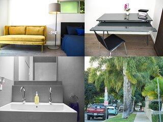 Hollywood cozy studio by Sunset/Fairfax FREE PKG