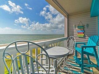 NEW! Oceanfront Corpus Christi Condo: Resort Perks