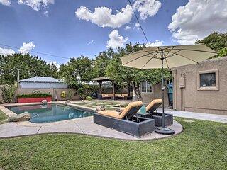 NEW! Midtown Getaway w/ Private Pool & Grass Yard!