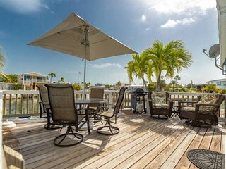 BLUE DOLPHIN - Waterfront Home, Dock Your Boat, Community Pool/Hot Tub, Tennis C