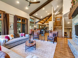 Living Room on Main Level with Hardwood Floors