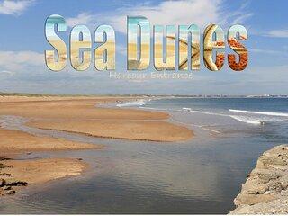 Sea Dunes: Seafront Luxury Spacious Maisonette - Fantastic Sea Views