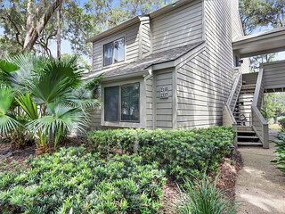 Three Bedroom Two Bath Ground Floor Flat in The Harbourtown Area of Sea Pines
