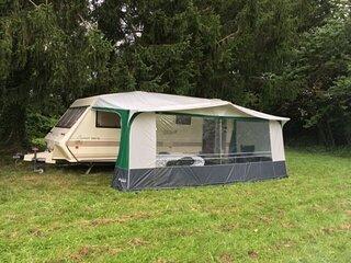 Beautiful 1-Bed Caravan in Domfront
