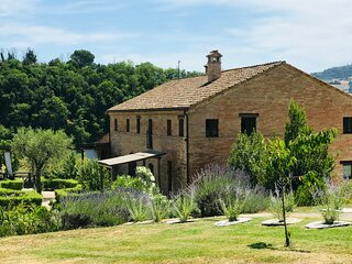 Casa Castagna. A beautifully restored country house set on 5 acres in Marche.