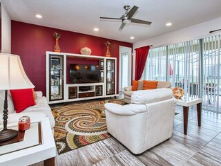 Spectacular 6 Bedrooms Single Home With Private Pool Near Disney 6BR/6.5BA 3880