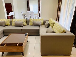 3 Bedroomed fully furnished apartment in bdex