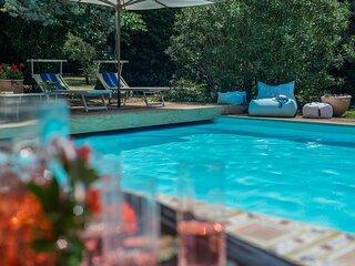 VILLA ROSSINI - Villa with Private Pool, beach 3 Km, wi-fi, pet-friendly, garden