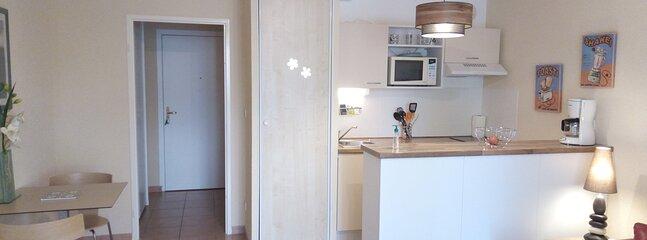 Studio tout équipé centre ville Thonon Les Bains, holiday rental in Cervens