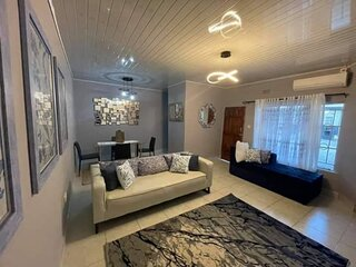 Spacious 2 Bedroomed semi-detached fully furnished apartment