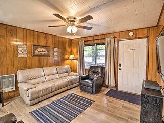 Pet-Friendly Cabin with Designated Boat Slip!