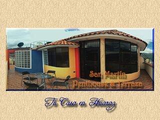 San Martín Penthouse & Terraza