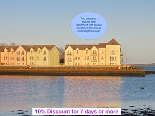 Sea Pigeon- Apartment on the Quay, Killyleagh